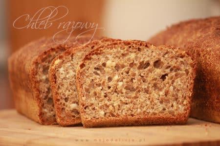 Chleb razowy na drożdżach