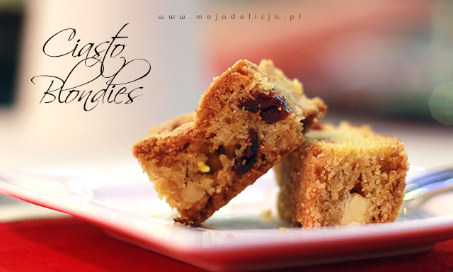 Ciasto Blondies