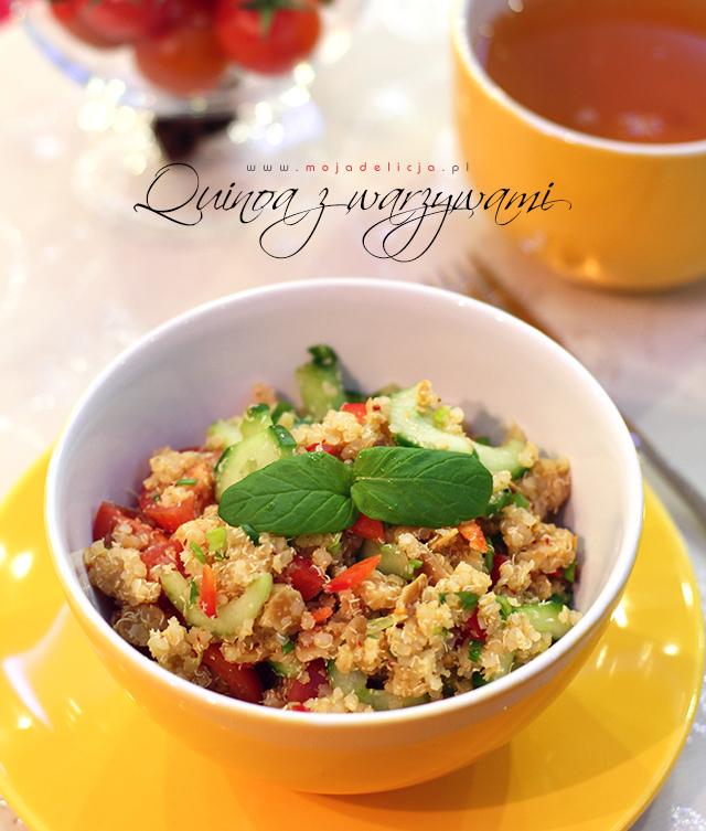 Kasza quinoa z warzywami
