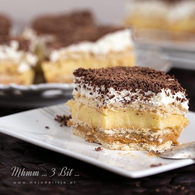 ciasto 3 bit - najlepsze, bez pieczenia - Ciasto 3 BIT na dużą blachę