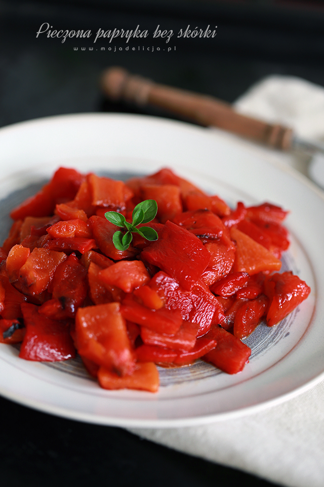 pieczona-papryka-bez-skory-Roasted-Red-Peppers-Recipe