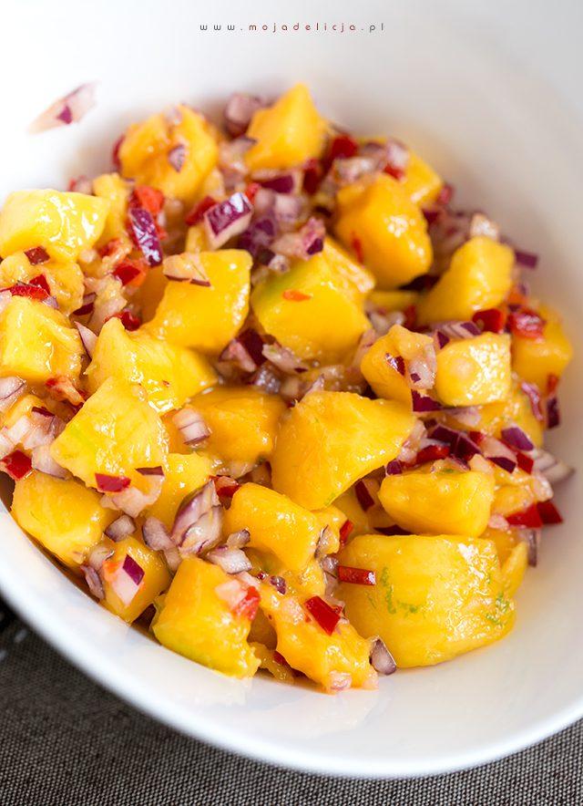 Salsa z mango i chilli