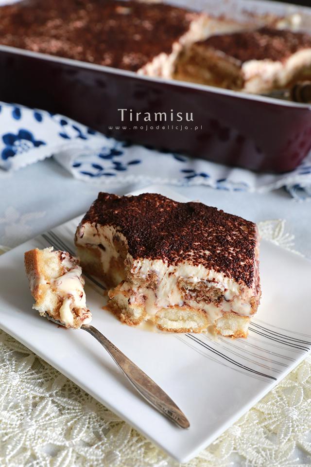Tiramisu – najlepsze, bez śmietany