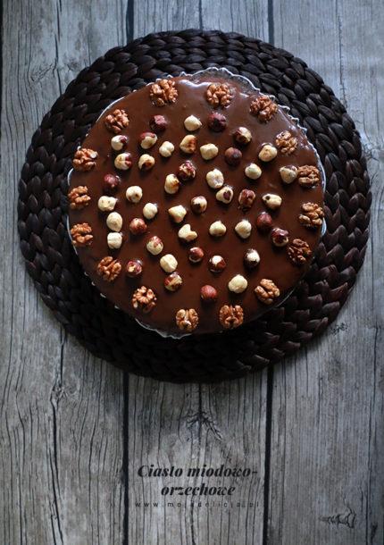 Ciasto miodowo – orzechowe – bez cukru