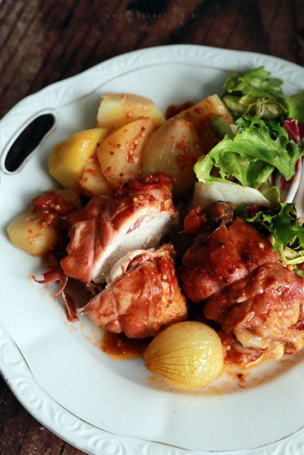 Frango na púcara – Prosty kurczak jednogarnkowy po portugalsku