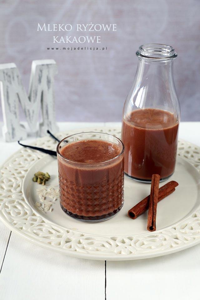 Mleko ryżowe kakaowe (czekoladowe)