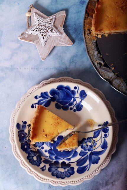 Tarta gruszkowo-pomarańczowa