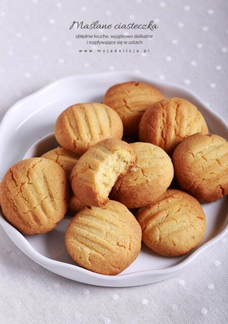 Melting Moments - rozpływające się w ustach kruche ciasteczka maślane