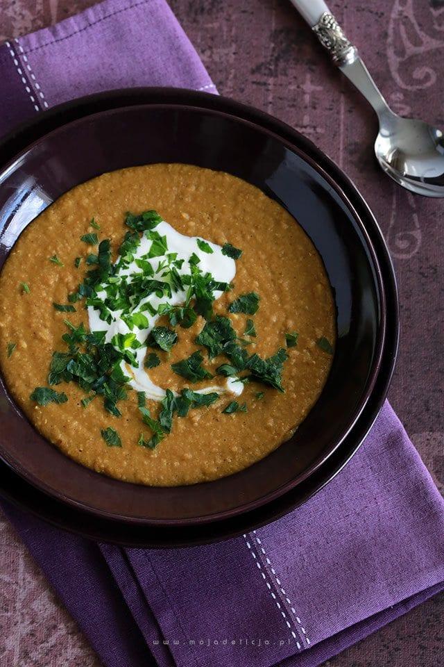 Rozgrzewająca zupa z soczewicy wg. Gordona Ramsay'a