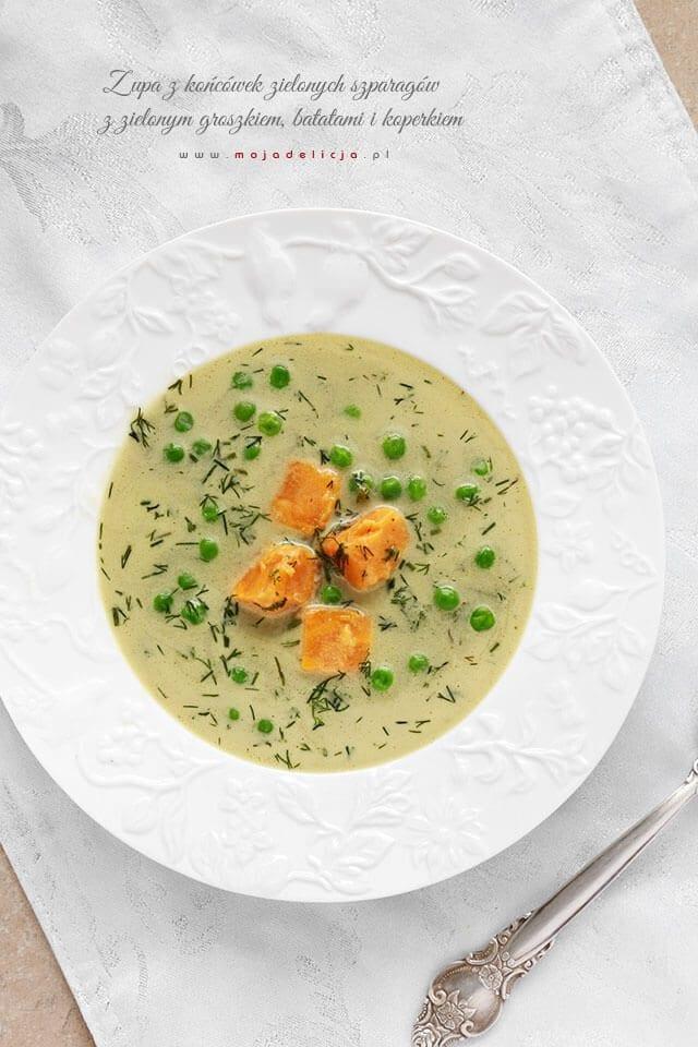 Zupa-z-koncowek-zielonych-szparagow-z-groszkiem-batatami-i-koperkiem