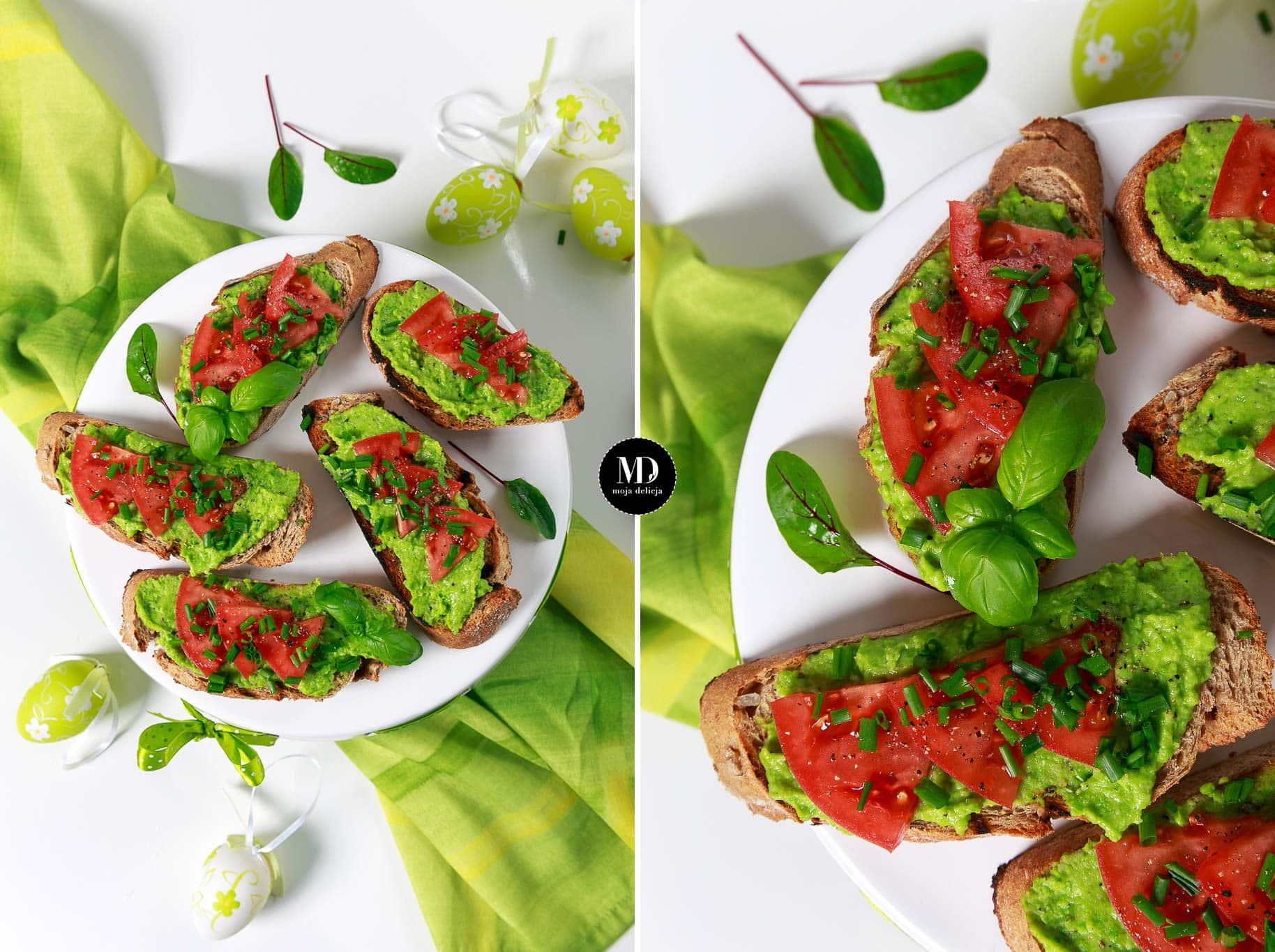 Pesto z zielonego groszku – wielkanocna pasta bez jajek