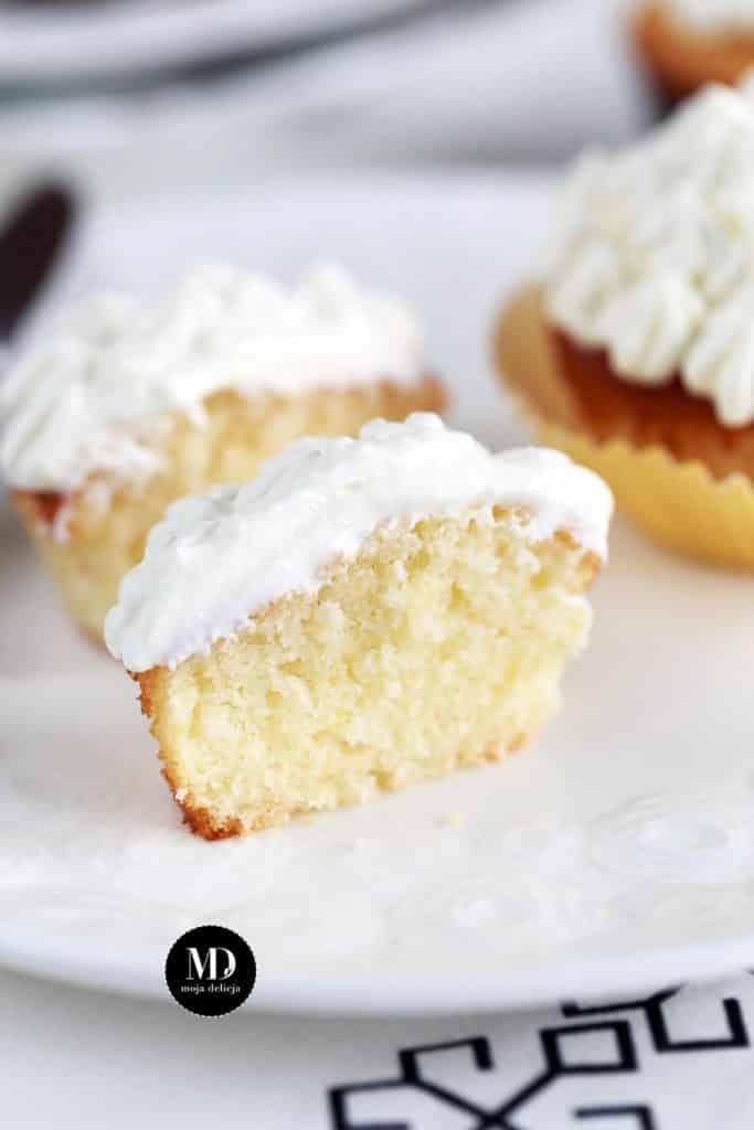 Muffinki cytrynowe - najlepsze - wersja bez miksera