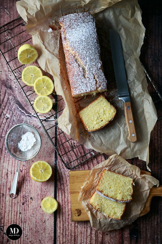 Proste ciasto cytrynowe - bez miksera