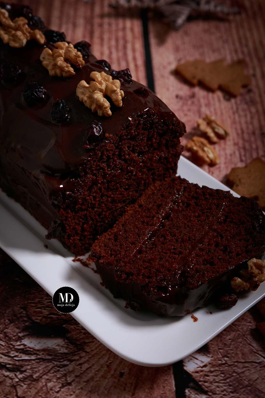 Szybki piernik czekoladowy - bez miksera