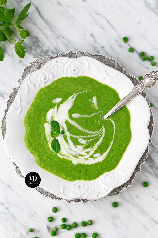 Zupa z groszku bez gotowania