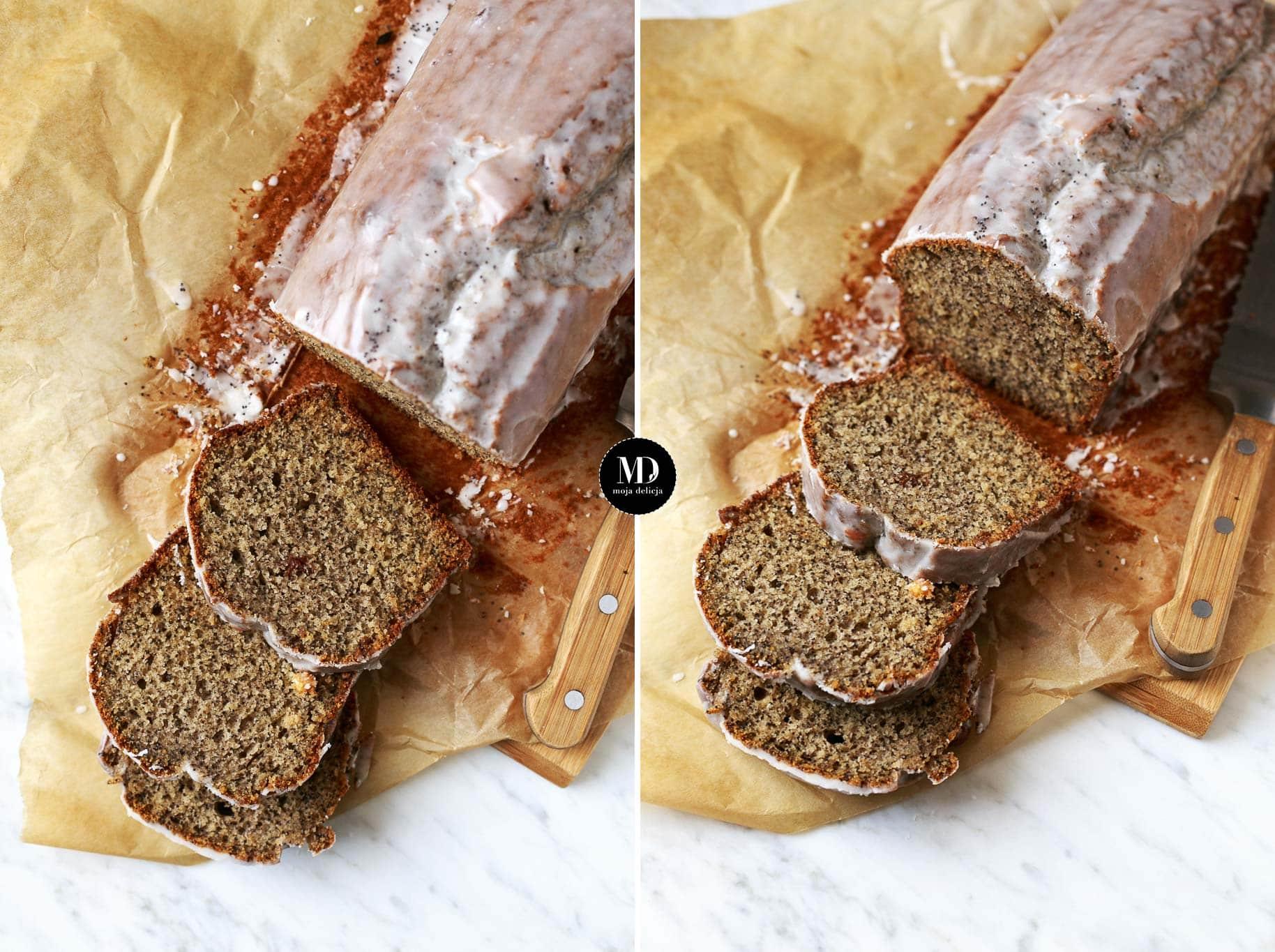 Proste ciasto z makiem – bez miksera