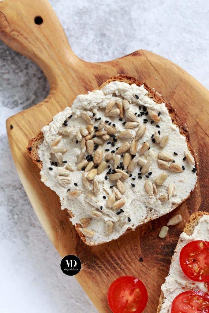 Pasta z nasion słonecznika