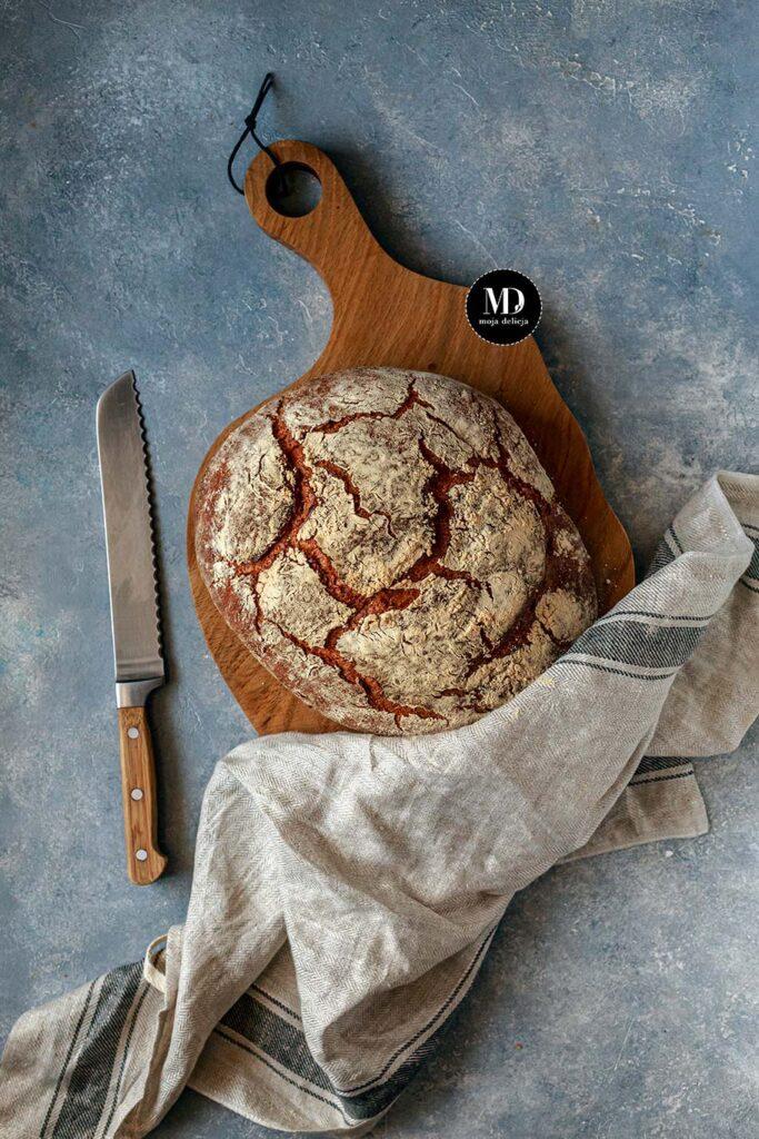 Chleb na drożdżach pszenno-żytni