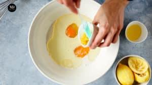 Ciasto w słoiku - Ciasto cytrynowe pieczone w słoiku - Przygotowanie