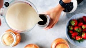 Ciasto w słoiku - Ciasto cytrynowe pieczone w słoiku - Wlaćśmietanędo syfonu